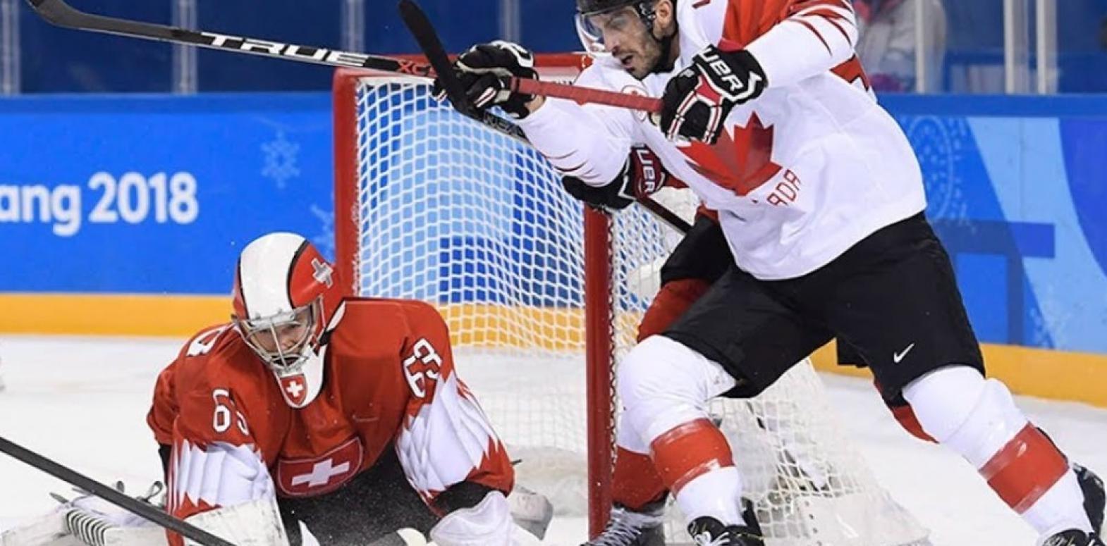 На ЧМ по хоккею Канада взяла верх в напряженном поединке со Швейцарией