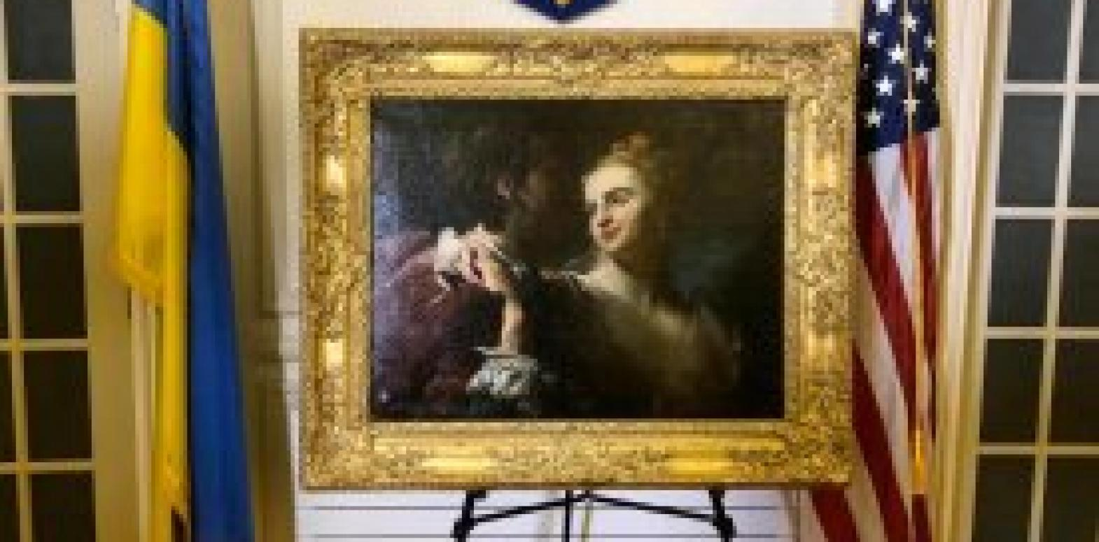 """Спецслужбы США решили вернуть Украине украденную нацистами картину """"Влюбленная пара"""" Луи Гудро"""