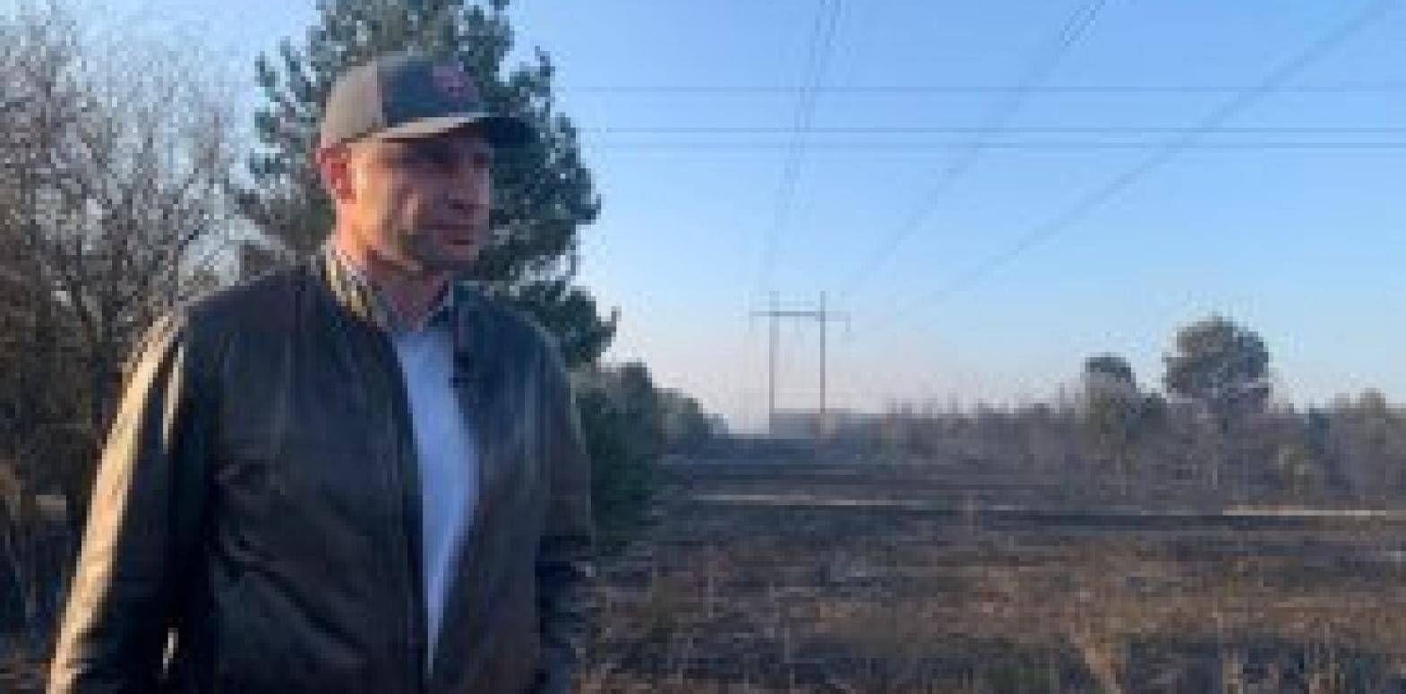 Кличко показал видео инспекции в Чернобыльской зоне